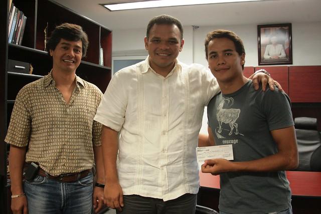 Garcia Joven el Joven Ricardo García Rivero