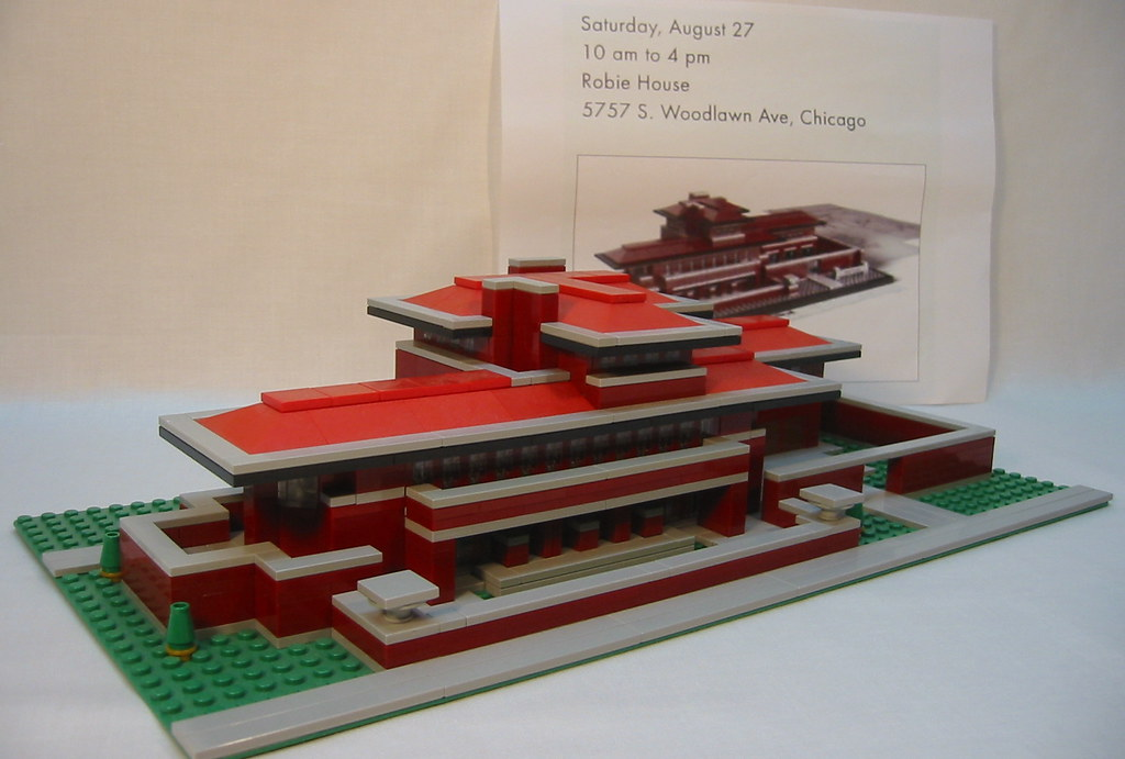 lego robie house | did you get the latest lego architect ser… | flickr