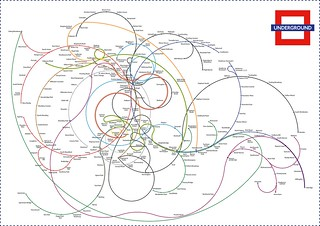 The Twisted London Underground Map | by F. Dans