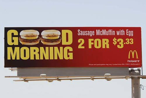 McDonald's billboard - Santan Freeway Loop 202, Chandler, AZ | by azbillboard
