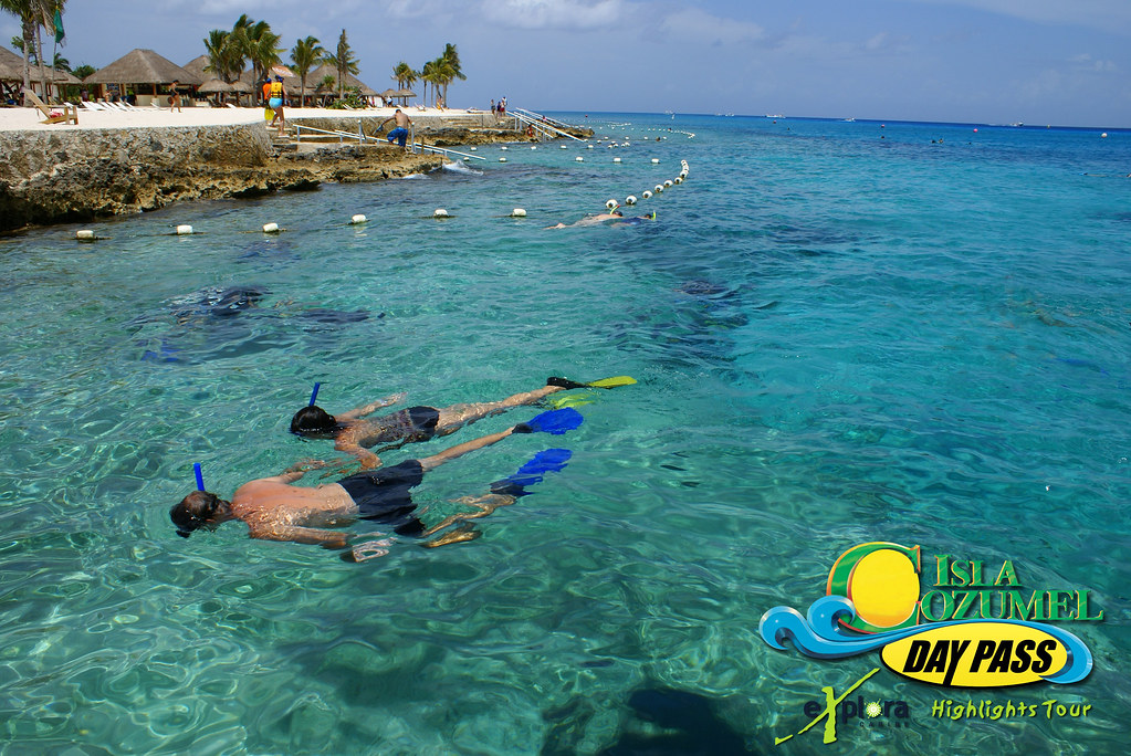 Isla Cozumel Highlights Day Pass: Snorkeling