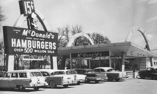 1950s Mcdonald S Restaurant Flickr Photo Sharing