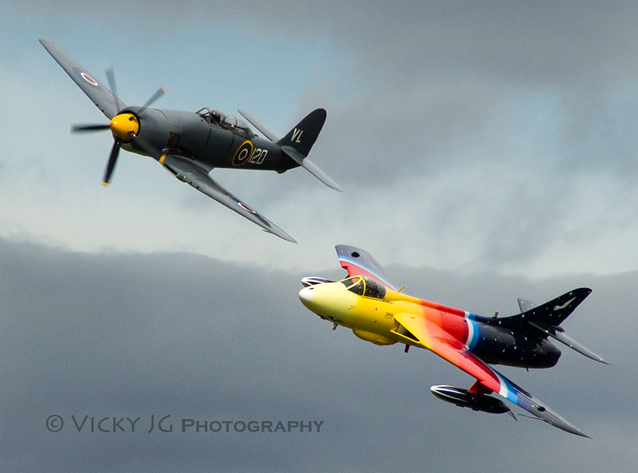 Fastest Jet In The World >> Hawker Sea Fury and Hawker Hunter | The Hawker Sea Fury ...