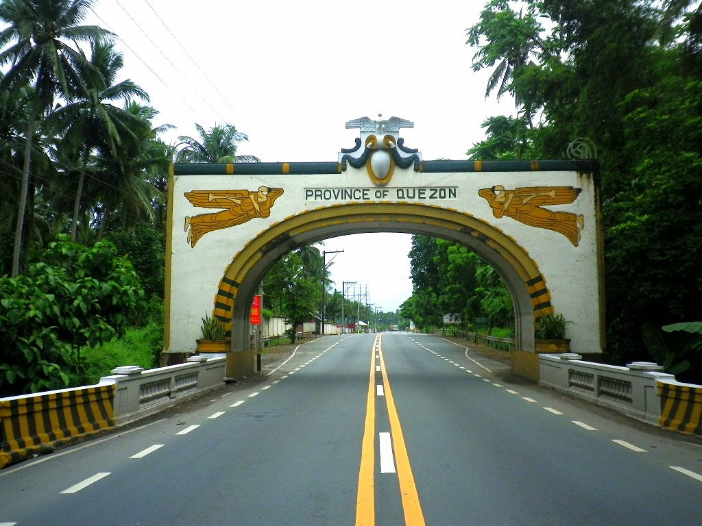 welcome to quezon province tiaong amp san pablo boundery