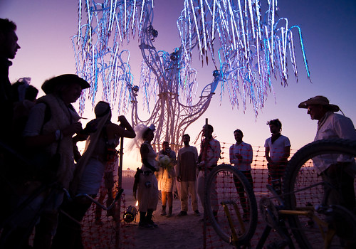 Fuzz & Raquel's Wedding, Burning Man 2011 | by jonandesign
