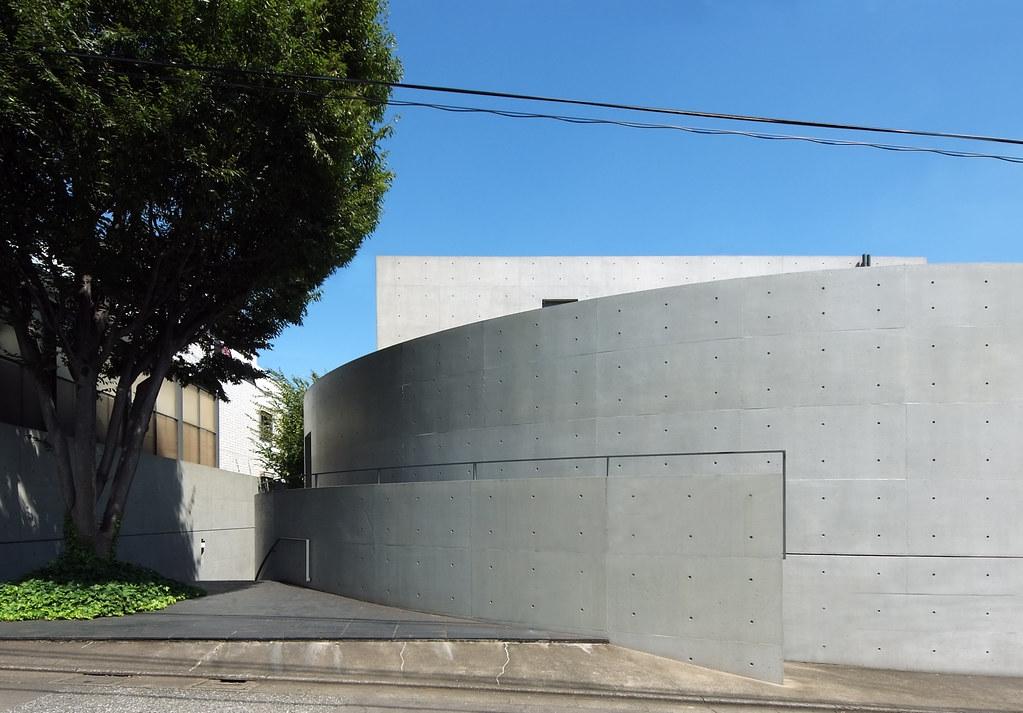 Kidosaki house tadao ando oct 1986 1986 for Kidosaki house