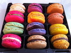 Macarons from Pâtisserie Wagner, Beaune