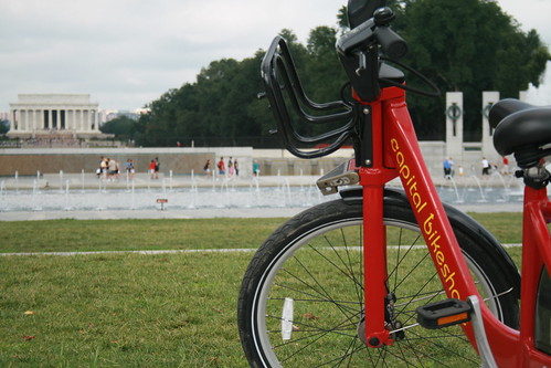 Capital Bikeshare at the WWII Mem. | by The Great Photographicon