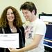 Entrega de diplomas de participación