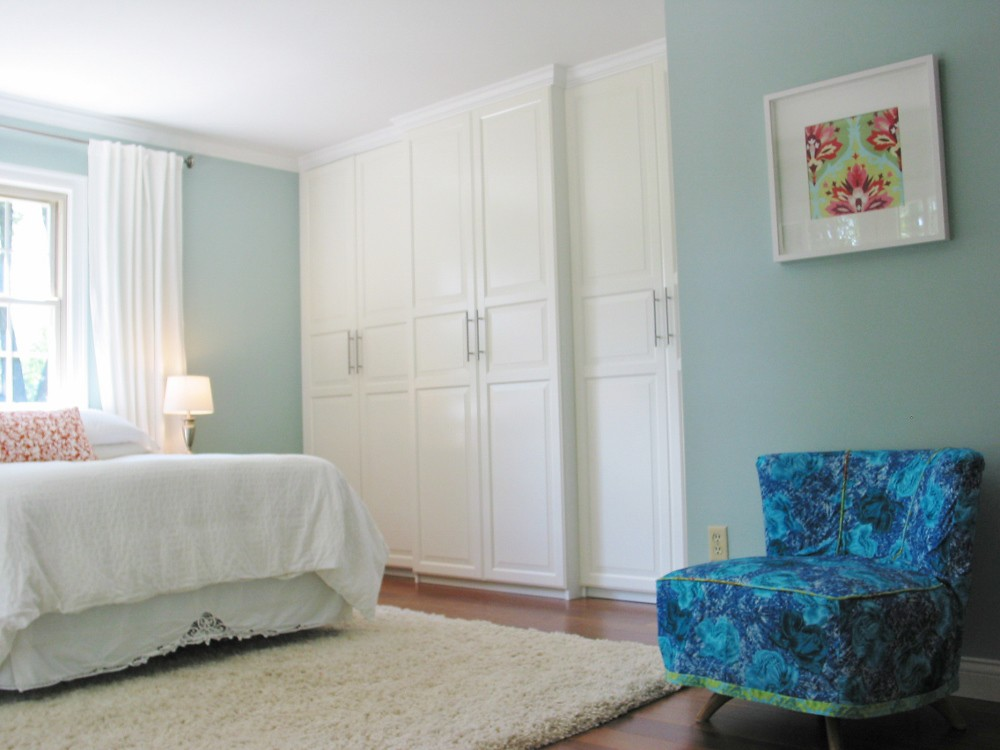 ... Master Bedroom Remodel ~ Ikea Closet | By Niesz Vintage Fabric