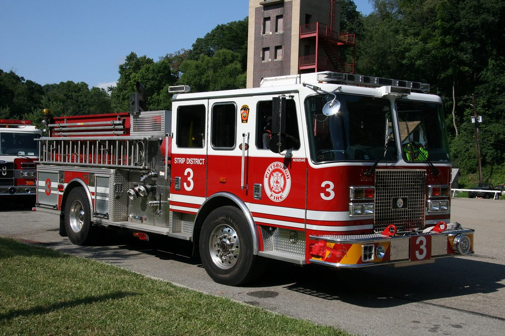 Kme Engine 3 Pittsburgh Fire Dept Kme Engine Of The