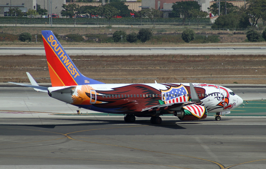 Special Livery Southwest Airlines Illinois One Boeing