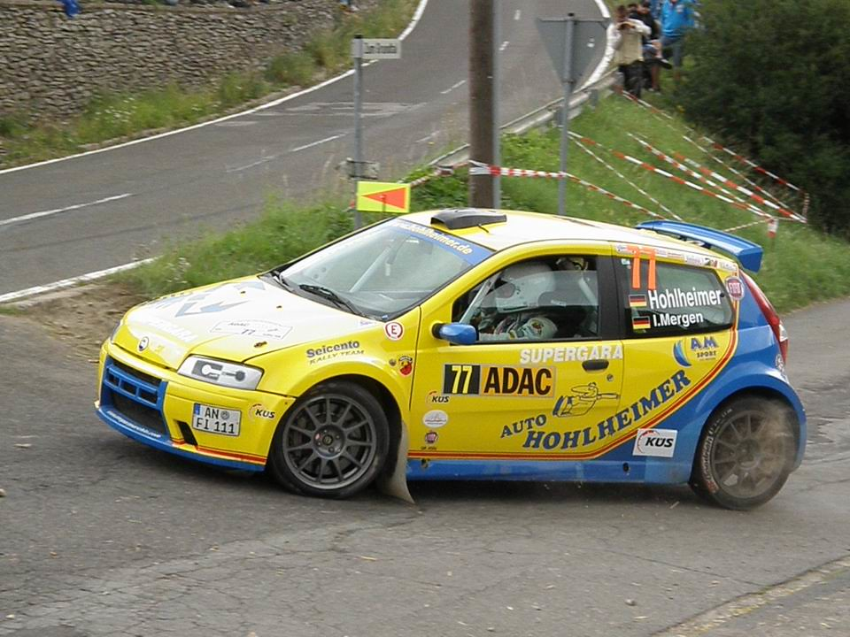 Fiat Punto Type 188 S1600 2000 Racing Cars