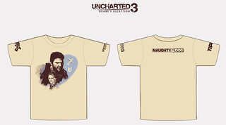 UNCHARTED 3 PAX 2011 t-shirt | by PlayStation.Blog