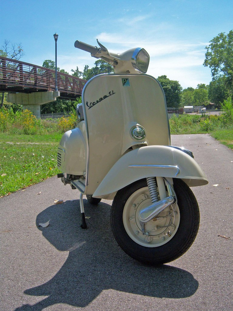 1964 Vespa Gl Done 1 Green Tree Scooters Flickr