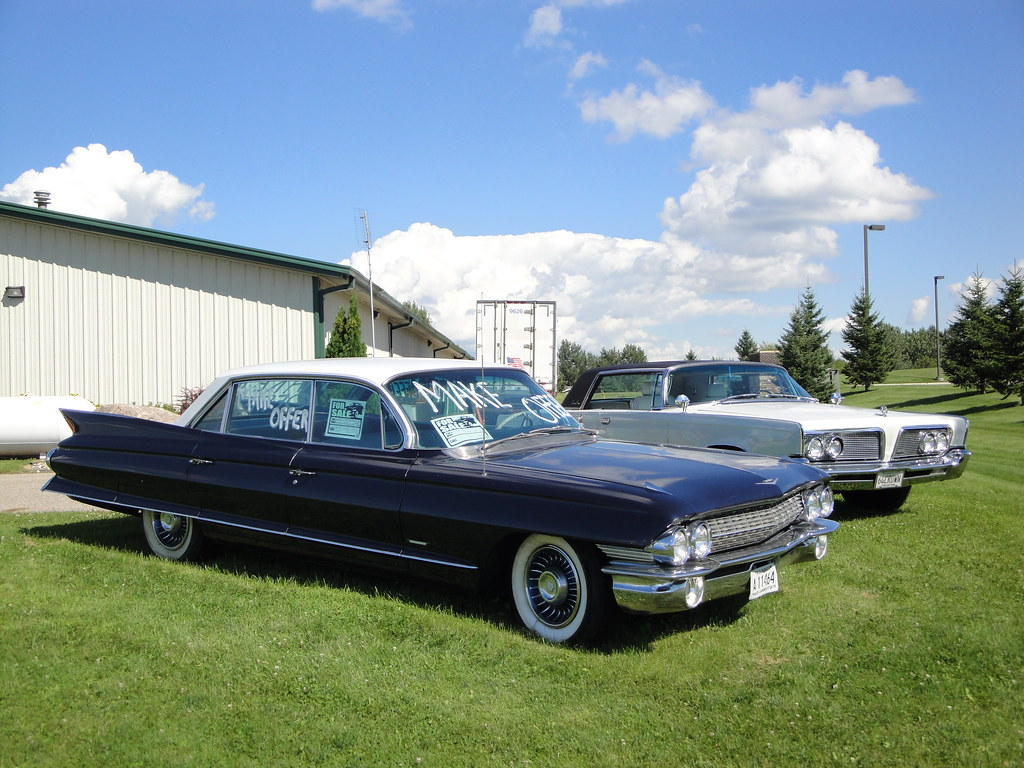 61 Cadillac Series 6200 & 64 Imperial Crown Coupe   View ...