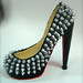 louboutin pump with studs