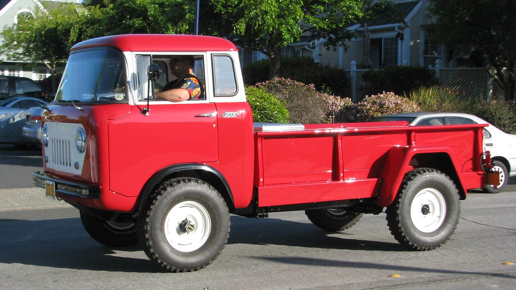 1960 Willys Jeep Fc 170 C O E Truck W 36 395 2