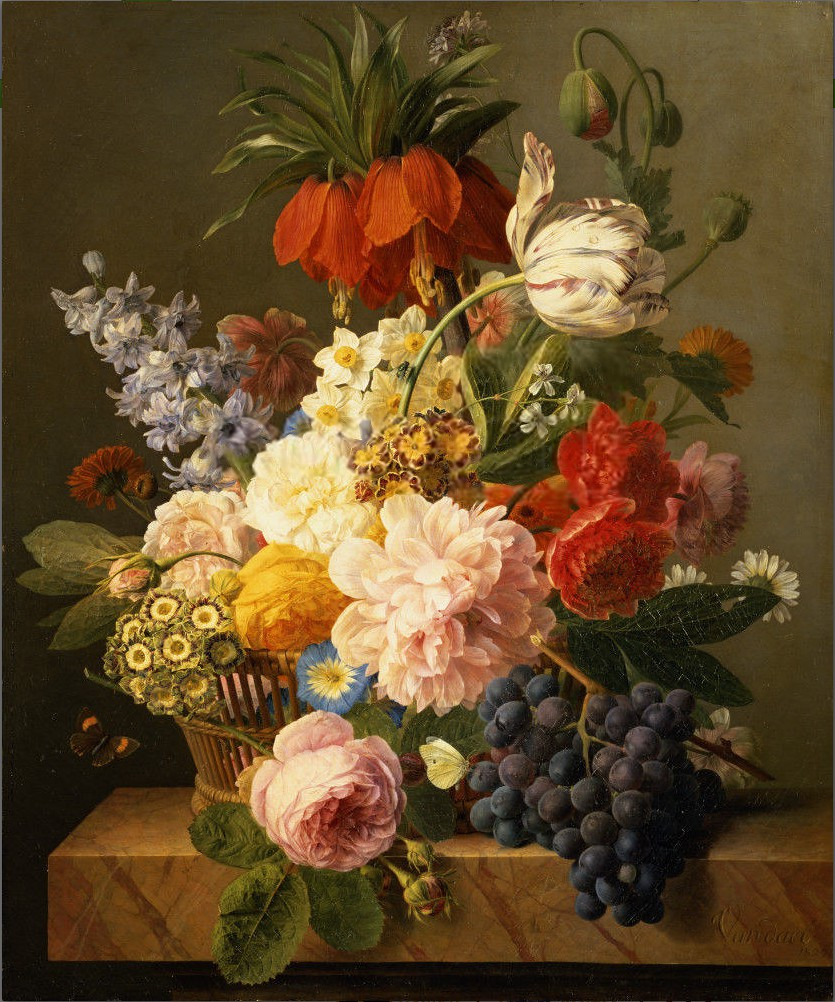 Jan frans van dael 39 still life with flowers and fruit 39 182 flickr for Immagini quadri fiori
