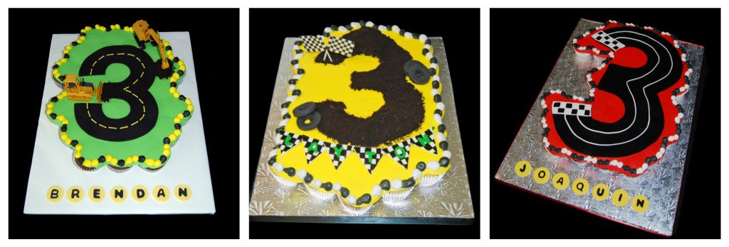 D Monster Truck Cake