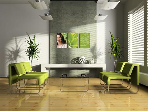 C mo decorar f cilmente las paredes de su oficina www for Decoracion para oficina