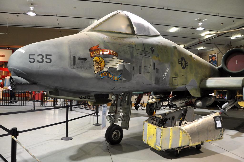 United States Air Force Fairchild Republic A 10a Thunder