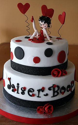 Betty Boop Cake This Cake Was An Order For A Friend