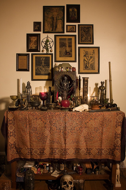 Flickr photo sharing for Pagan decorations for the home