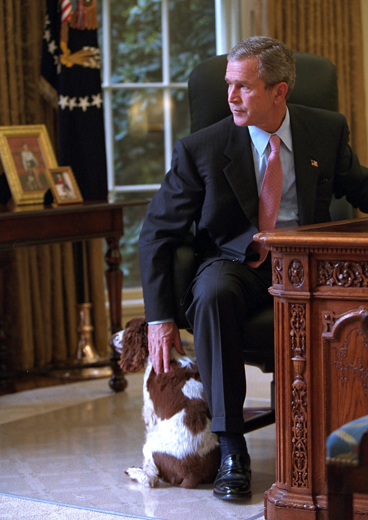 george bush oval office. 911: President George W. Bush In Oval Office, 10/01/2001 George Bush Oval Office L