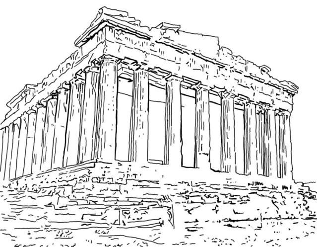 Acropolis Drawing Acropolis. newer older