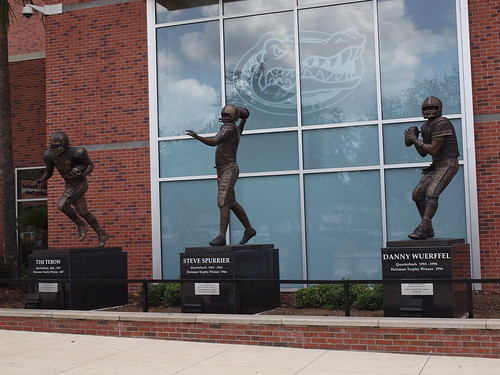 Football Statues | by Visit Gainesville