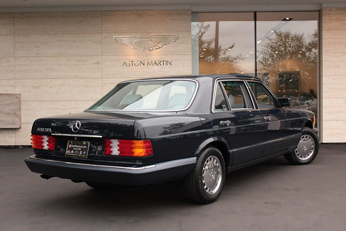 1991 mercedes benz 420sel park place ltd flickr for Park place mercedes benz