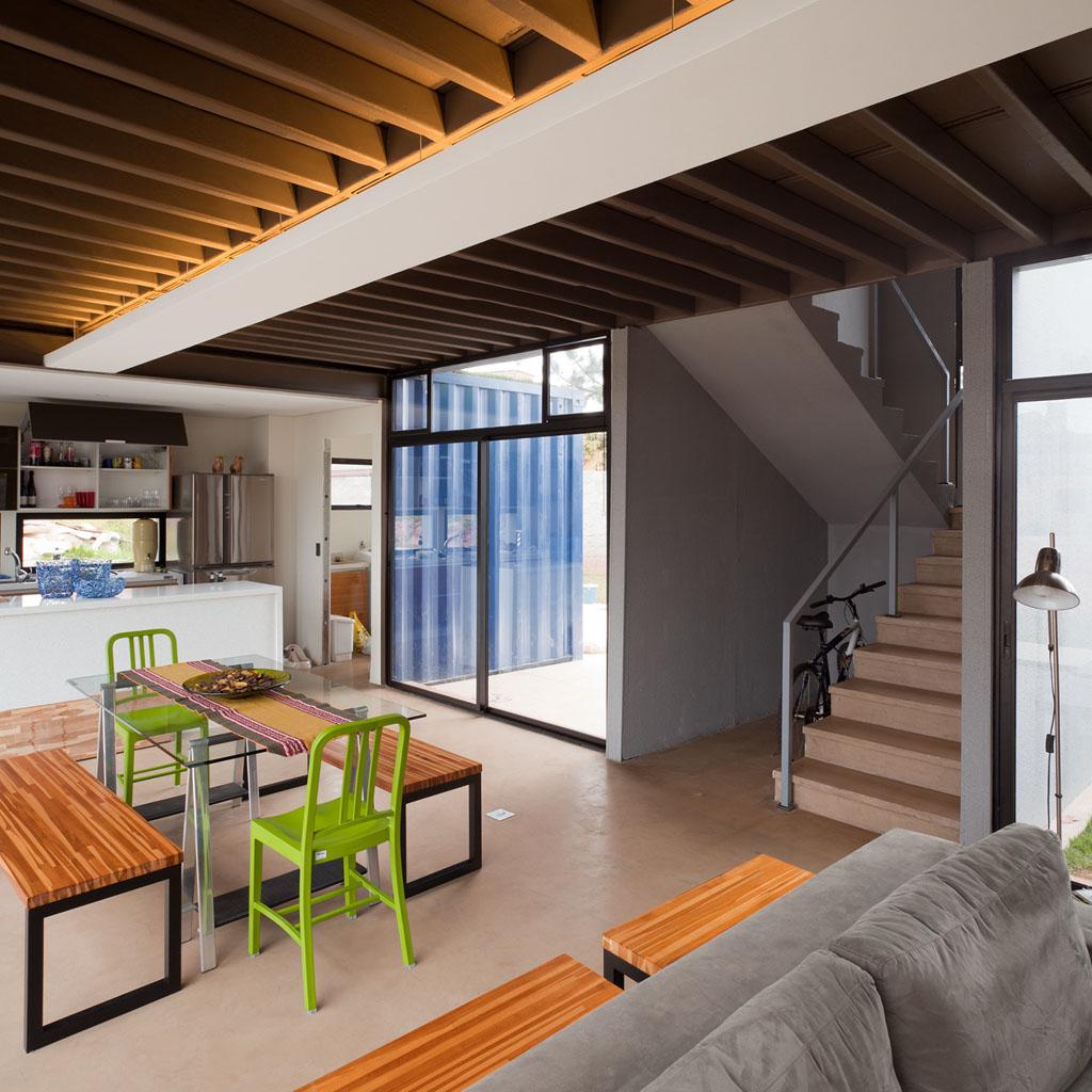 Casa container projeto casa container arquiteto danilo for Container casa