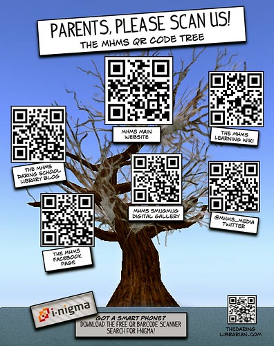 QR_CODE_TREE | by The Daring Librarian