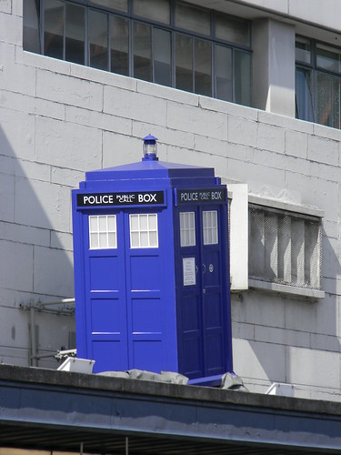 9th August 2011 Tardis On Roof Olympia Kensingon Doctor Wh