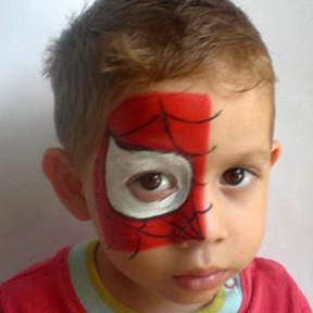 Maquillaje de hombre araña