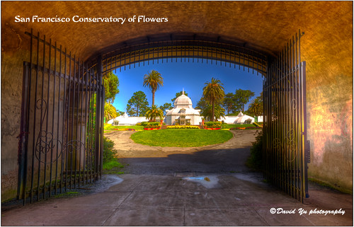 San Francisco Conservatory of Flowers | by davidyuweb