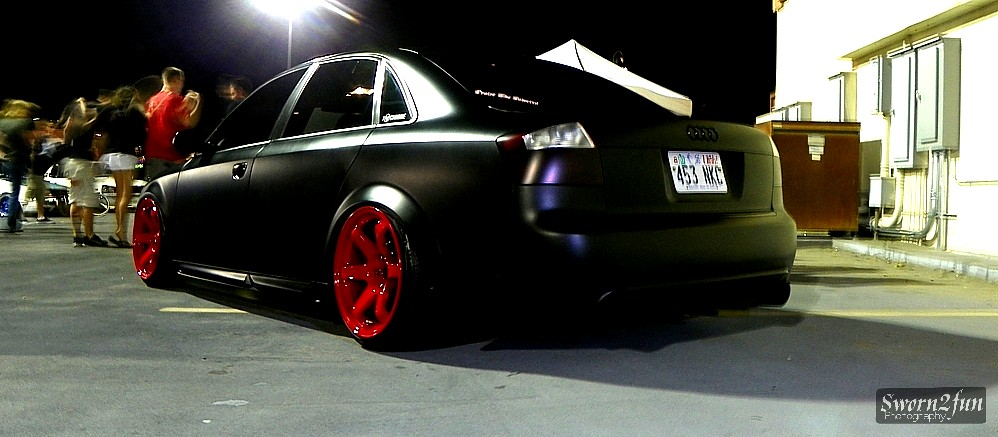 Slammed Audi A4 Edgar Lamas Flickr