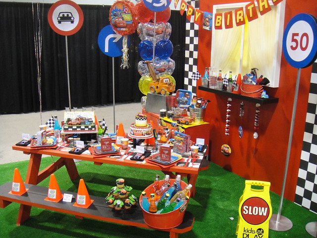 D23 Expo 2011 - Cars themed birthday party supplies ...