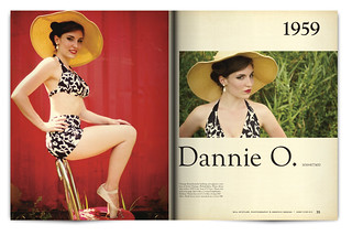 Vintage Magazine Spread Design Project - Pgs. 34 & 35 | by willstotler