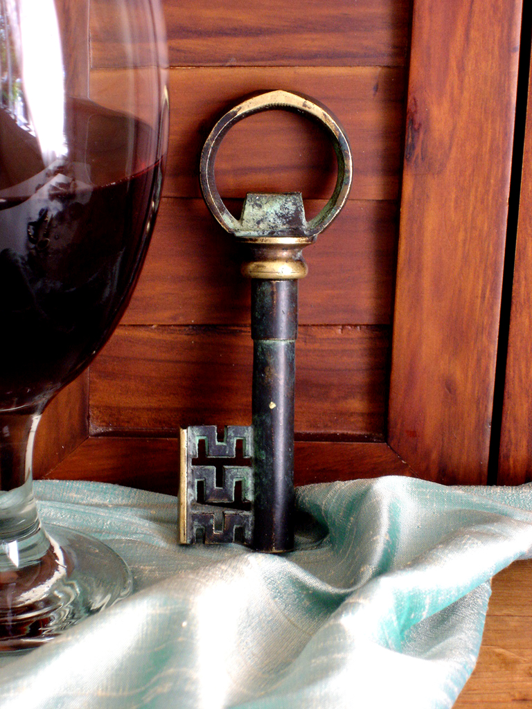vintage key corkscrew bottle opener from urban heirlooms urbanheirlooms flickr. Black Bedroom Furniture Sets. Home Design Ideas