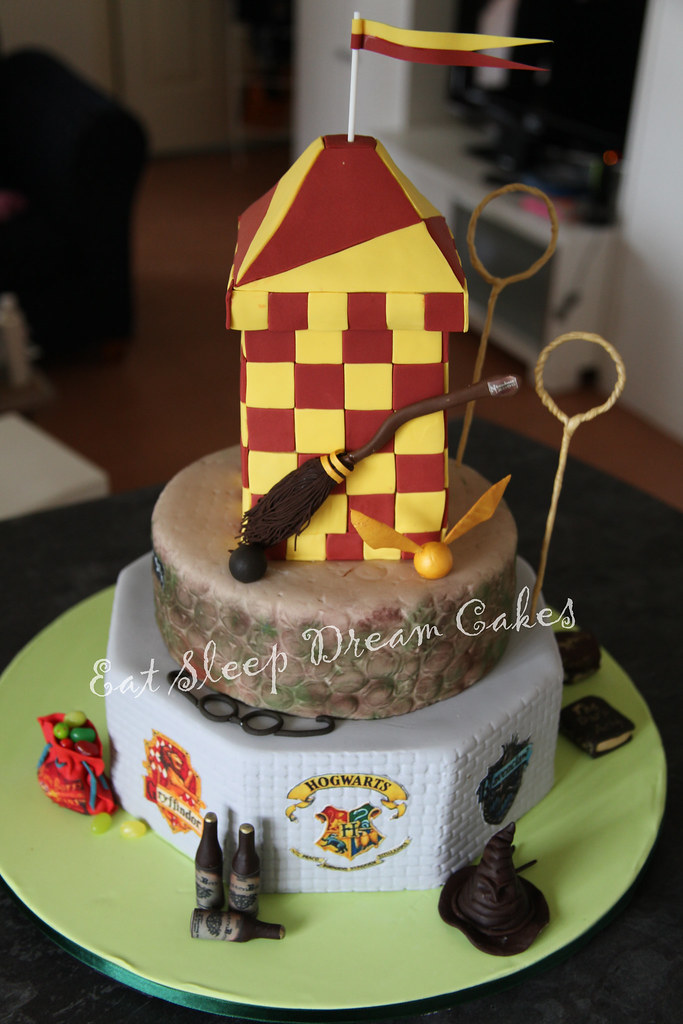 Harry Potter Quidditch Cake Ideas