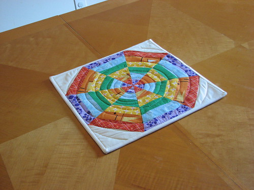 Spiderweb Hotpad | by KCQuilts