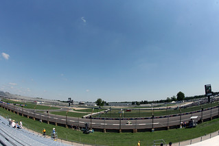 Onto the front straight | by indianapolismotorspeedway.com