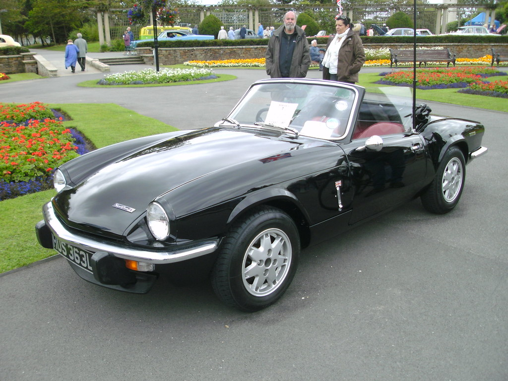 1972 triumph spitfire mk4 1 3 curiously wearing what look flickr. Black Bedroom Furniture Sets. Home Design Ideas