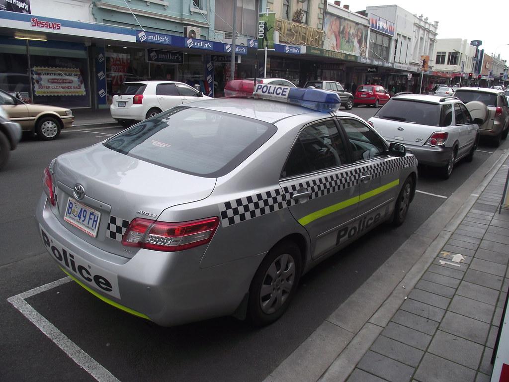Tasmania Police Toyota Camry General Duties A Very