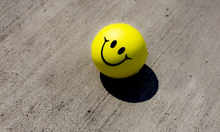 smiley face stress ball | by jetheriot