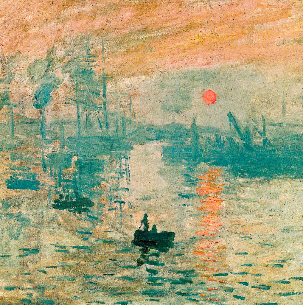 claude monet impression soleil levant 1873 at monet ma flickr. Black Bedroom Furniture Sets. Home Design Ideas