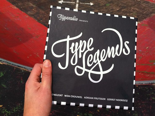 awesome Typeradio Type Legends Box | by Indra Kupferschmid
