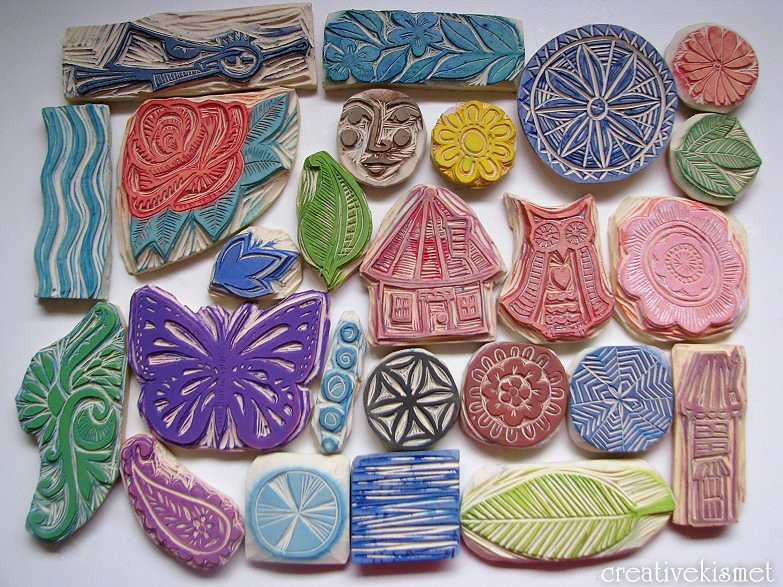 Carved stamps set ged regina lord flickr